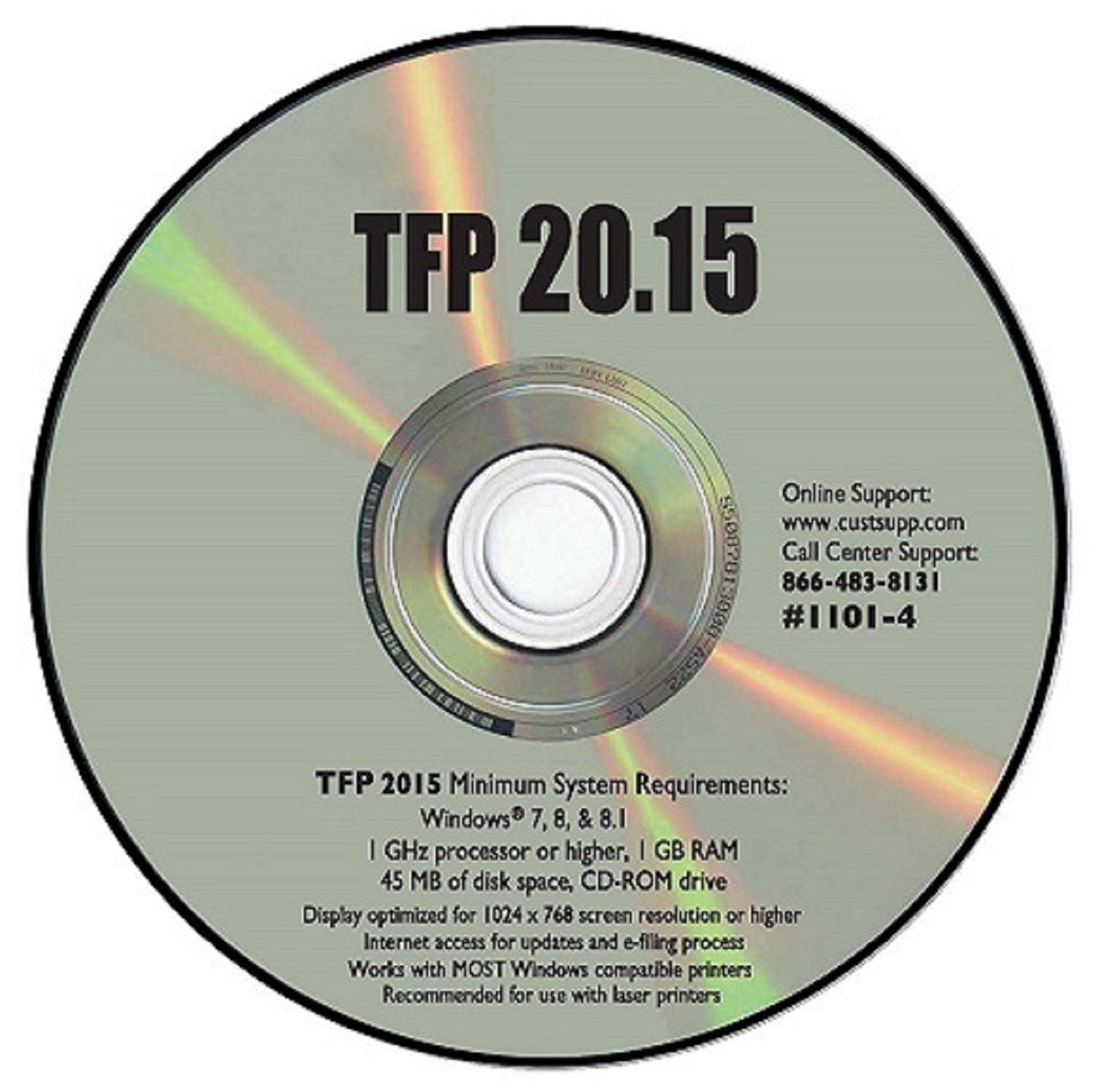 Tax Form Express CD-ROM Tax Software by TFP