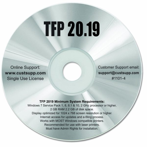 Tax Software by TFP