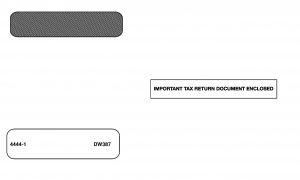 W-2 Envelope - DW387