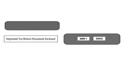 W2 4-Up Envelope - DW4S
