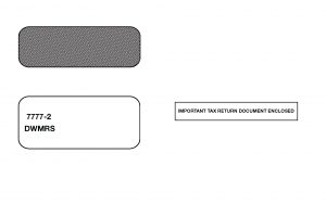 1099 Envelope - DWMRS