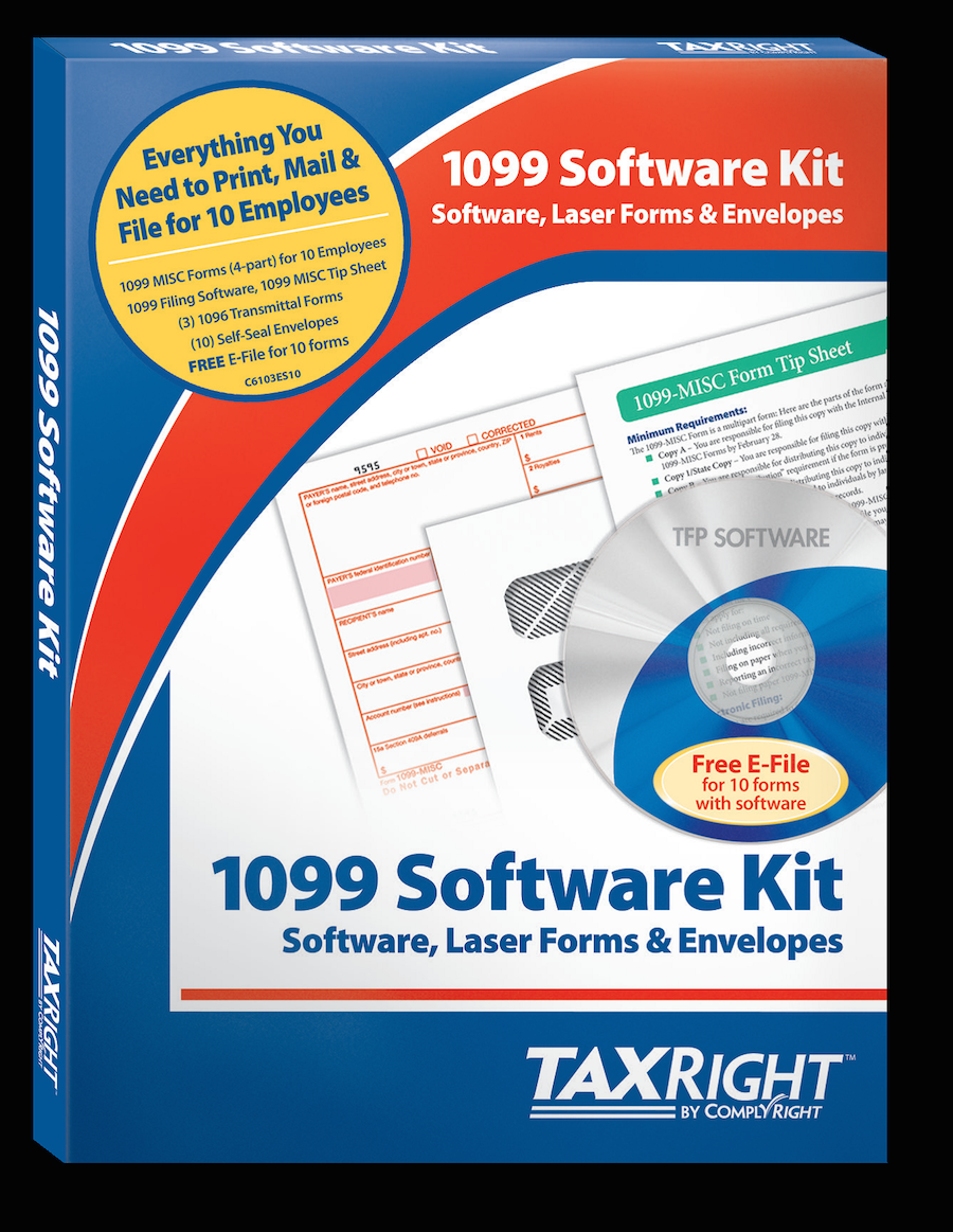Tax Form Express 1099 Software by ComplyRight