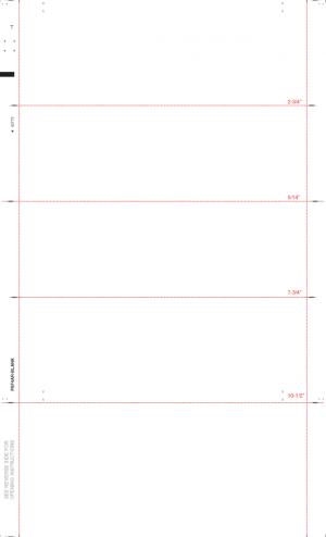 Multi-Purpose Pressure Seal Tax Forms