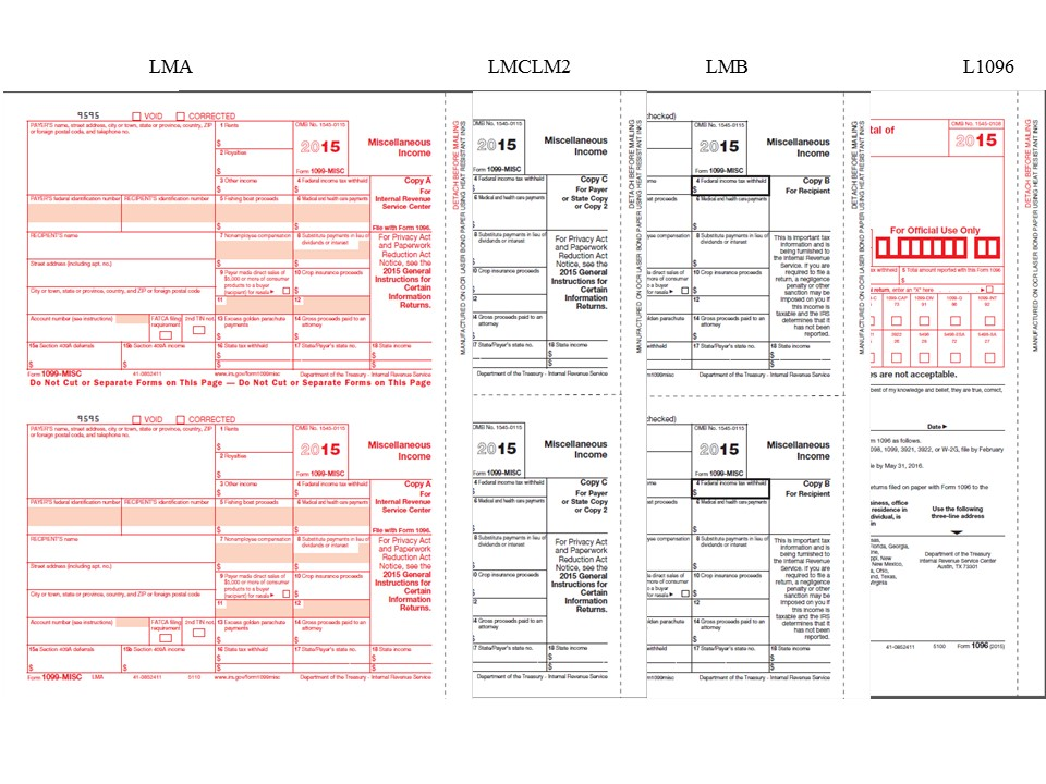 1099-misc Tax Forms