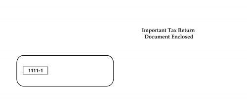 1099 Envelope - SW19